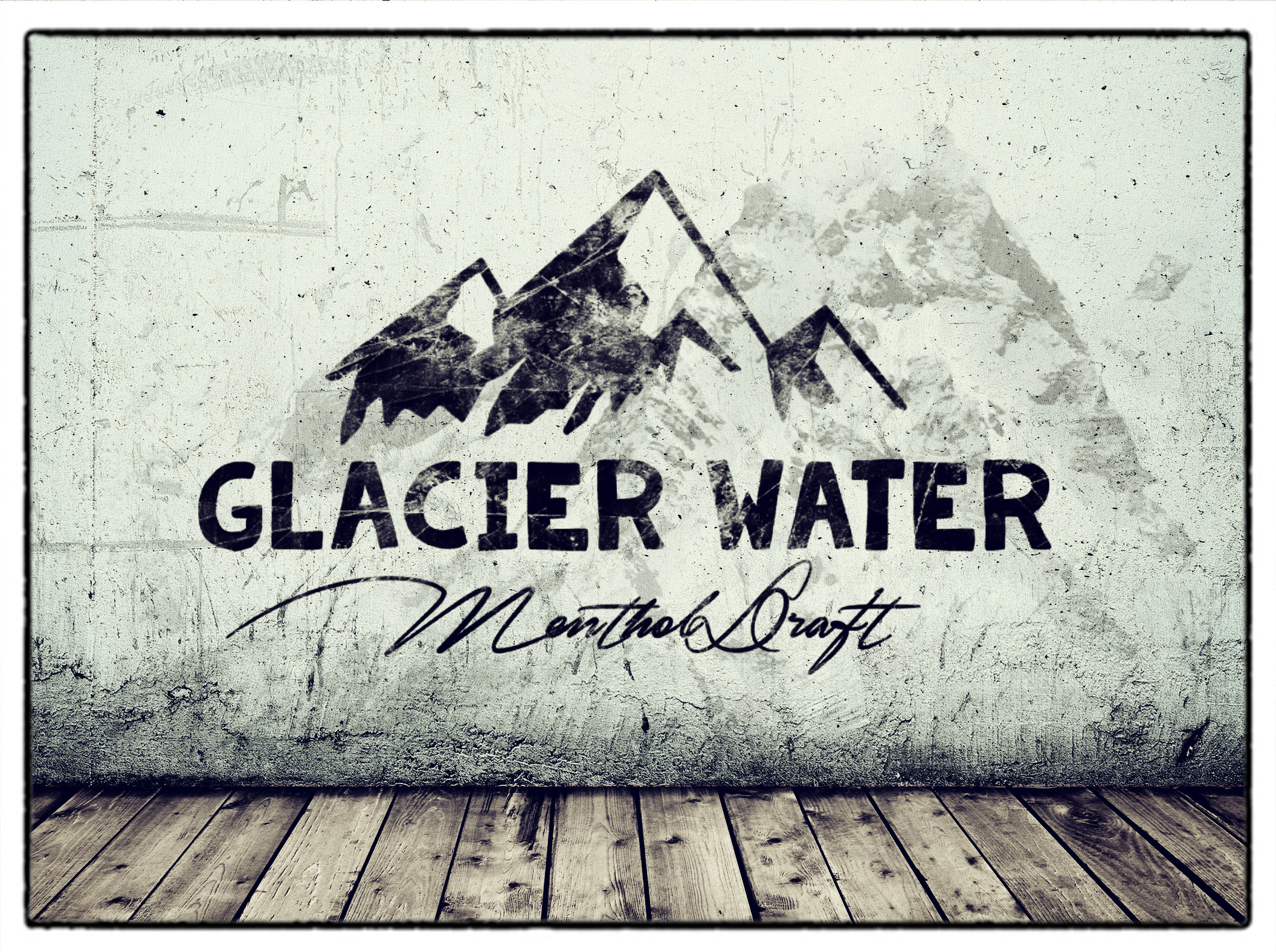 "Kollektion ""Glacier Water"""